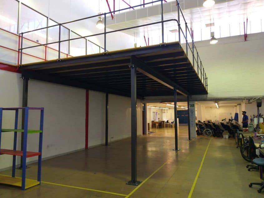 structural mezzanine floor extensions